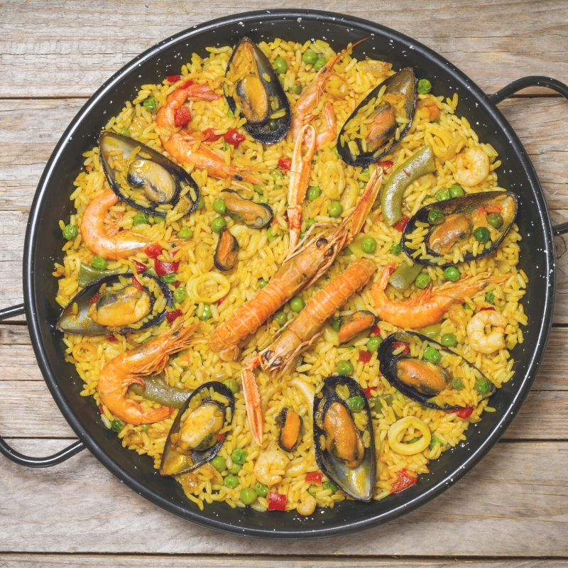 Paella Dinner Product Image